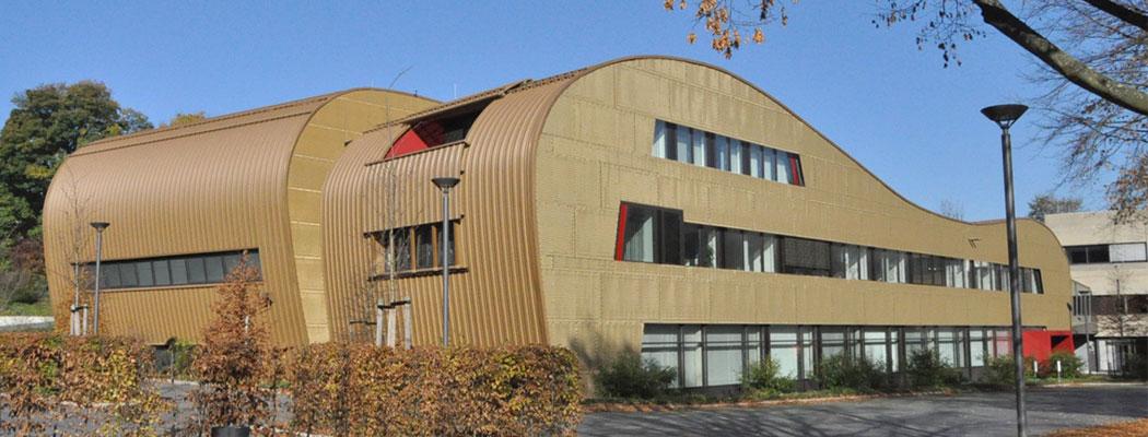 Erweiterungsneubau Rechenzentrum RWTH Aachen, Bauherr und Planung BLB NRW Aachen, Leistungsphase 6-8