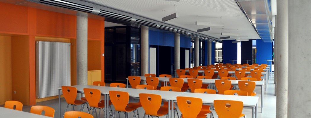 Errichtung einer Mensa in der Hugo-Junkers-Realschule Aachen, Bauherr Stadt Aachen