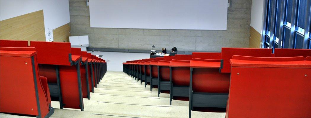 Neubau Hörsaalzentrum PPS RWTH Aachen, Bauherr BLB NRW Aachen, Planung HH+F Architekten, Leistungsphase 6-8